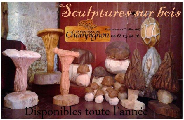 CÈPES, Boutique du Champignon 04 68 05 94 76